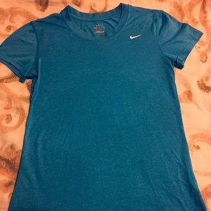 Nike Dri-Fit Blue Active Tee